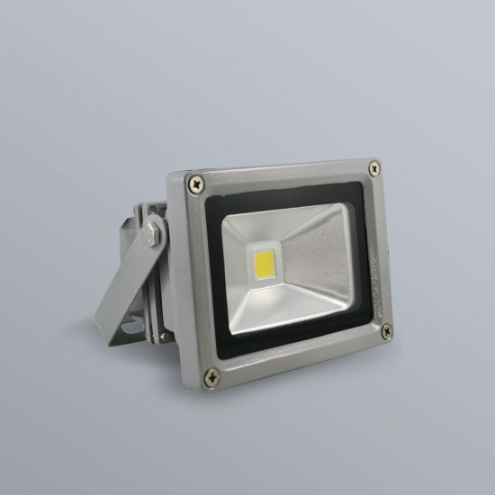 LED Fluter Grau 10 Watt 230V