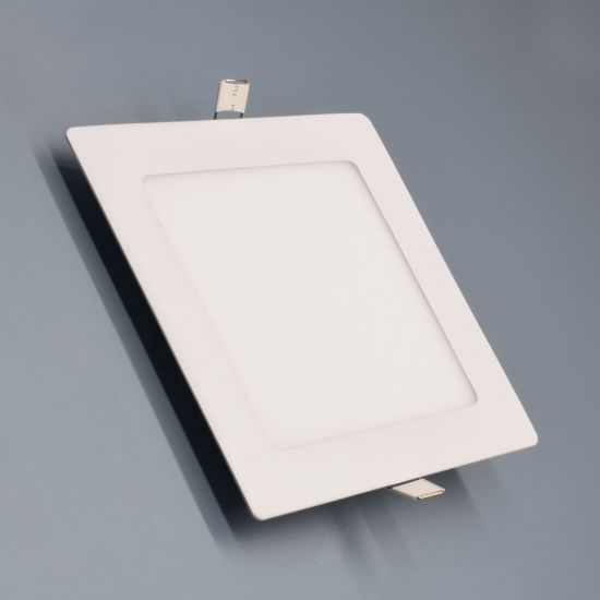 LED-Panel Weiß 12 Watt eckig