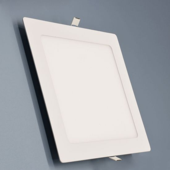 LED-Panel Weiß 18 Watt eckig