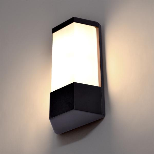 Outdoor wall lamp powder-coated black E27 socket IP44