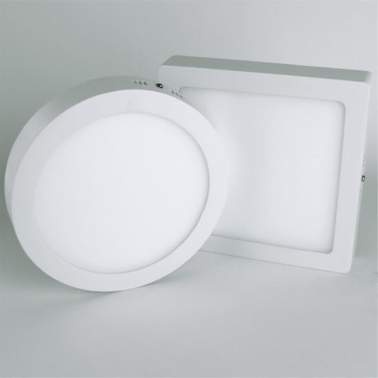 LED-Panel Aufputz 12 Watt warmweiß eckig