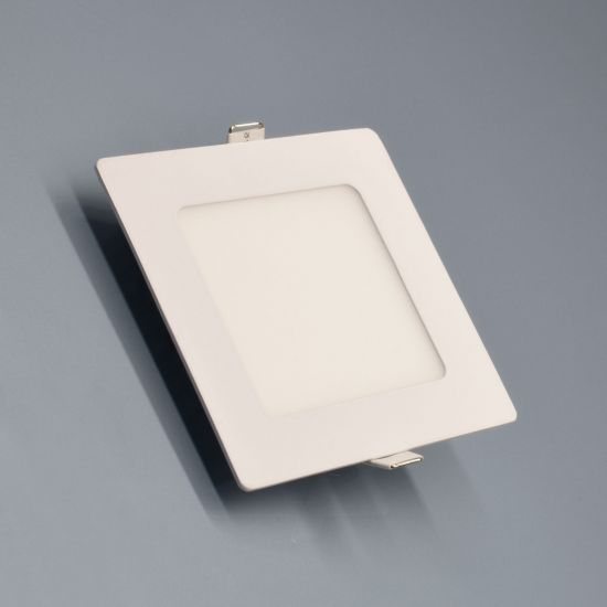 LED-Panel Weiß 6 Watt warmweiß eckig  - EEK: A++ (Spektrum: A++ bis A)