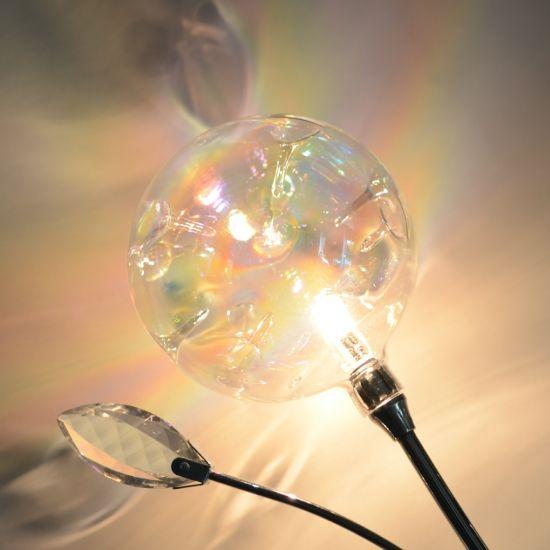 Lampenschirm Als Glaskugel Ersatzglas Oder Neuer Schirm Glas Mit Dellen