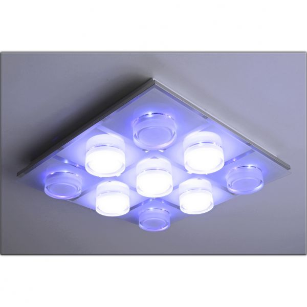 LED Decken-Leuchte Dallas 52 Watt 9-flamig 230V 7157-9