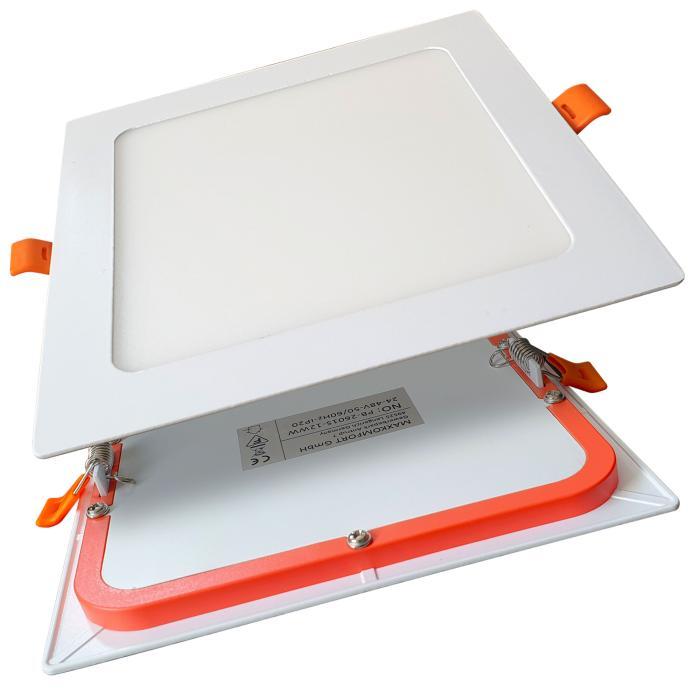 led standleuchte eckig aus edelstahl und glas 80 cm 434. Black Bedroom Furniture Sets. Home Design Ideas