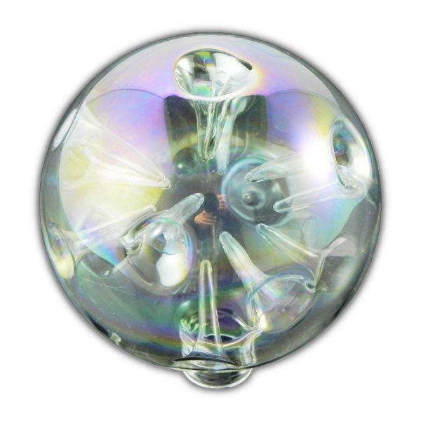 lampenschirm als glaskugel ersatzglas oder neuer schirm glas mit dellen. Black Bedroom Furniture Sets. Home Design Ideas